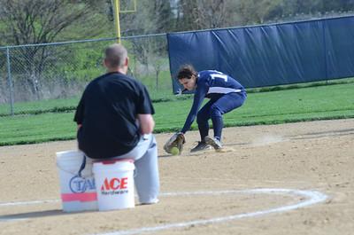 Oswego East girls softball senior night Vs Rosary 2012 002