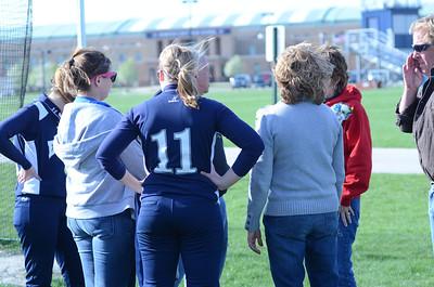 Oswego East girls softball senior night Vs Rosary 2012 038