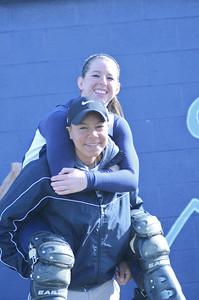 Oswego East girls softball senior night Vs Rosary 2012 034