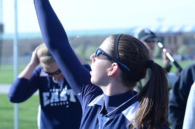 Oswego East girls softball senior night Vs Rosary 2012 020