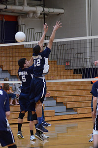 Oswgo East boys volleyball Vs Oswego 2012 018
