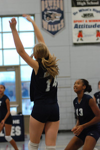 Oswego East Girls Volleyball Vs Plainfield Central 015