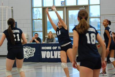 Oswego East Girls Volleyball Vs Plainfield Central 052