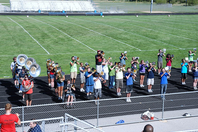 Blue and Silver scrimmage 2012 002