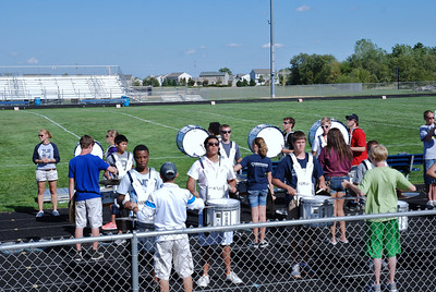 Blue and Silver scrimmage 2012 010
