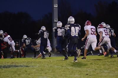 Oswego East football Vs Plainfield No  2012 012