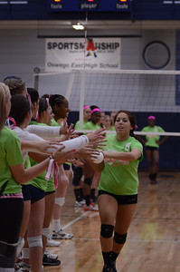 Oswego East Vs Oswego (Volley for a cure 2012) 170