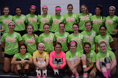 Oswego East Vs Oswego (Volley for a cure 2012) 009
