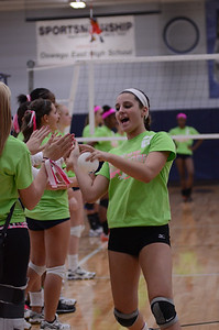Oswego East Vs Oswego (Volley for a cure 2012) 167