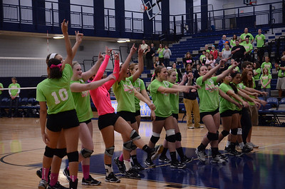 Oswego East Vs Oswego (Volley for a cure 2012) 158