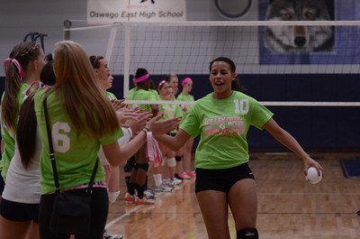 Oswego East Vs Oswego (Volley for a cure 2012) 195