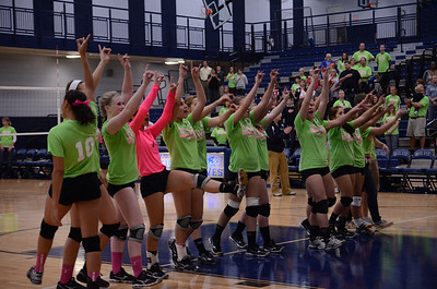 Oswego East Vs Oswego (Volley for a cure 2012) 159
