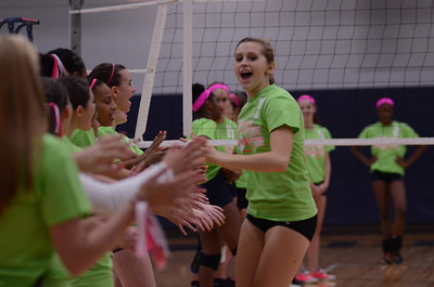 Oswego East Vs Oswego (Volley for a cure 2012) 180