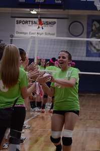 Oswego East Vs Oswego (Volley for a cure 2012) 176