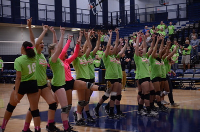 Oswego East Vs Oswego (Volley for a cure 2012) 160