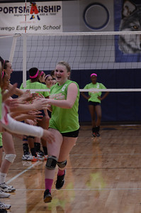 Oswego East Vs Oswego (Volley for a cure 2012) 177