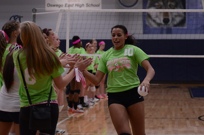 Oswego East Vs Oswego (Volley for a cure 2012) 196