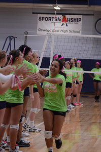 Oswego East Vs Oswego (Volley for a cure 2012) 169