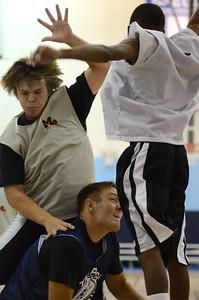 OE boys basketball summer camp 3 on 3 at Plainfield So 415