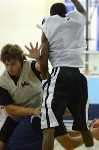 OE boys basketball summer camp 3 on 3 at Plainfield So 416