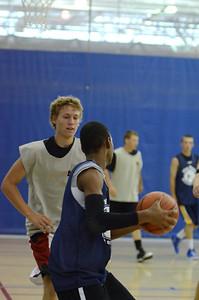 OE boys basketball summer camp 3 on 3 at Plainfield So 436