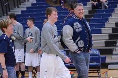 Oswego East Boys Basketball Vs Minooka (Senior Night 2013) 245