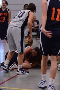 Oswego East Girls basketball Vs Naperville No  2012 215