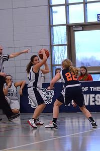 Oswego East Girls basketball Vs Naperville No  2012 207