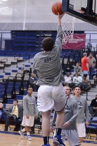 Oswego East boys basketball Vs Plainfield Central 2013 057