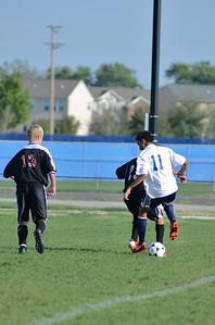Oswego East Fresh  boys soccer Vs Minooka 035