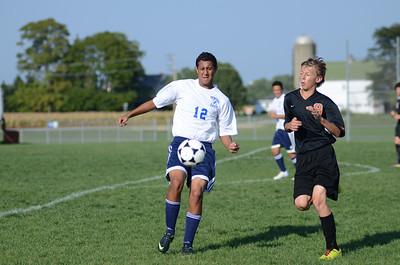 Oswego East Fresh  boys soccer Vs Minooka 010