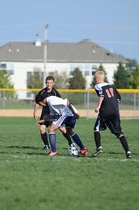 Oswego East Fresh  boys soccer Vs Minooka 020