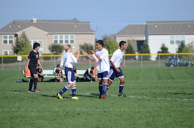 Oswego East Fresh  boys soccer Vs Minooka 004