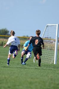 Oswego East Fresh  boys soccer Vs Minooka 043