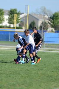 Oswego East Fresh  boys soccer Vs Minooka 031