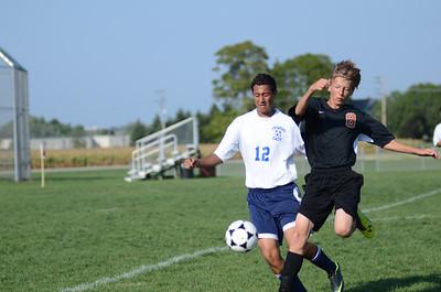 Oswego East Fresh  boys soccer Vs Minooka 012