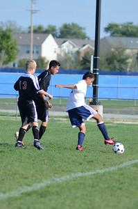 Oswego East Fresh  boys soccer Vs Minooka 034