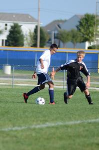 Oswego East Fresh  boys soccer Vs Minooka 041