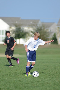 Oswego East Fresh  boys soccer Vs Minooka 022