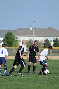 Oswego East Fresh  boys soccer Vs Minooka 018