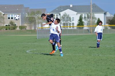 Oswego East Fresh  boys soccer Vs Minooka 007
