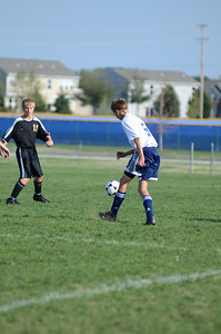 Oswego East Fresh  boys soccer Vs Minooka 027