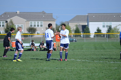 Oswego East Fresh  boys soccer Vs Minooka 003