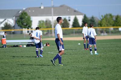 Oswego East Fresh  boys soccer Vs Minooka 001