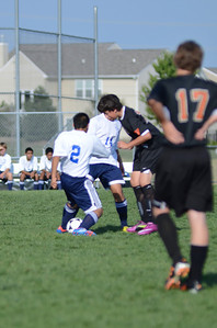 Oswego East Fresh  boys soccer Vs Minooka 016