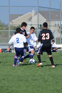 Oswego East Fresh  boys soccer Vs Minooka 015