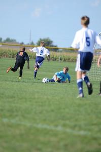 Oswego East Fresh  boys soccer Vs Minooka 045