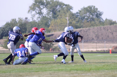 Oswego East Fresh  football Vs Rich So  2012 012