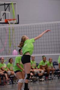 Oswego East Vs Oswego (Volley for a cure 2012) 051