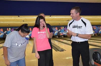 Oswego East Girls Bowling Vs Oswego 2012 013